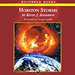 Horizon Storms: The Saga of Seven Suns, Book 3 (       UNABRIDGED) by Kevin J. Anderson Narrated by George Guidall