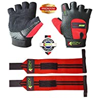Ezy Fitness Weight Lifting Gloves & W…
