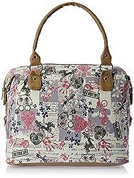Kanvas Katha Women's Handbag (Ecru) (KKAC004)