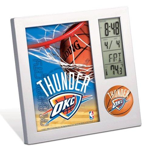 Oklahoma City Thunder Official Nba 4 Inch X 6 Inch Desk Clock front-1040964