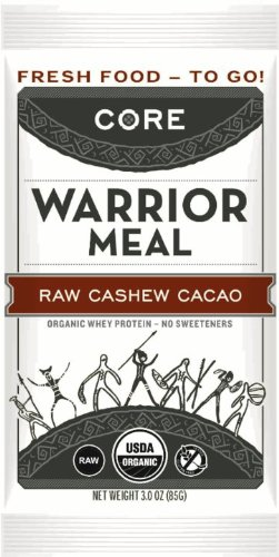 CORE Warrior Raw Cashew Cacao - 10 Pack Image