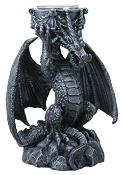 Fantasy Dragon Candle Holder Decoration