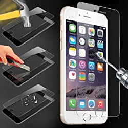 Tempered Glass for Apple iPhone 6 (4.7 inch ONLY) Case Army HD Premium Ballistic Glass Screen Protector with Oleophobic Coating - Protect Your Screen from Scratches and Drops - 99.99% Clarity and Touchscreen Accuracy, Highe