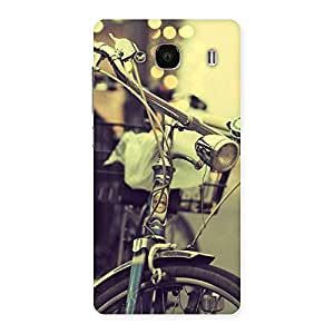 Ajay Enterprises Powerful Bycycle Vintage Back Case Cover for Redmi 2 Prime