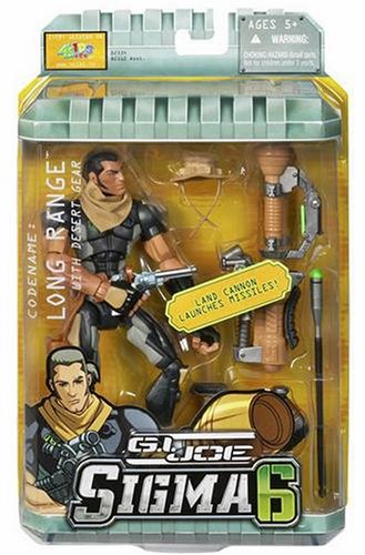Buy Low Price Hasbro Gi Joe  8In Sldier Long Range W/ Desert Gear Figure (B000GABMA6)