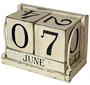 Amazon.com - Ohio Wholesale Shabby Chic Perpetual Calendar Wall