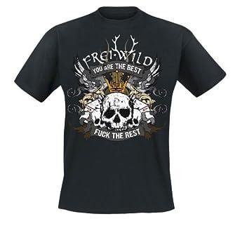 Frei.Wild - Sieger Stehen Da Auf... T-Shirt, schwarz, Grösse S
