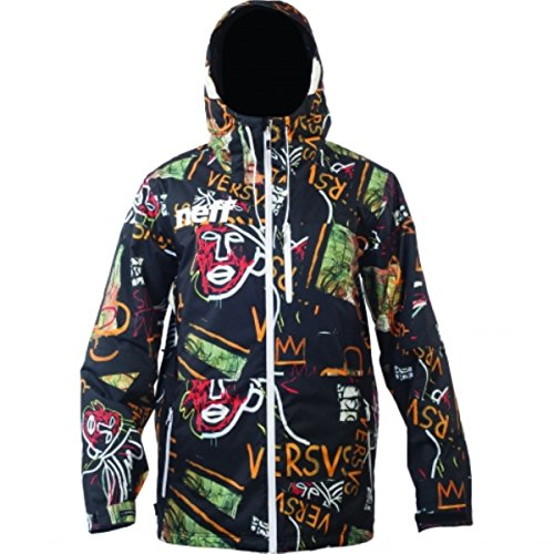 neff Men's Trifecta Jacket, Basquiat, X-Large