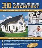 3D Wunschhaus Architekt Pro, 1 CD-ROM Planung, Konstruktion und Einrichtung Ihres Traumhauses in 2D und 3D. Über Texturen, Möbel, Pflanzen und Einrichtungsgegenstände.