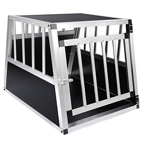 woltu alu hundetransportbox hundek fig autohundebox 1. Black Bedroom Furniture Sets. Home Design Ideas