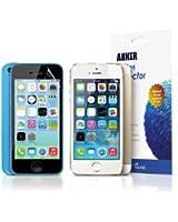 Anker® Glaze Films de protection d'écran (ultra clair)pour iPhone 5(3 pièces)- Gloss Finish - Matériaux Japonais PET de haute qualité + Emballage au détail