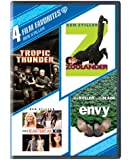 4 Film Favorites: Ben Stiller (Tropic Thunder, Zoolander, The Heartbreak Kid, Envy)