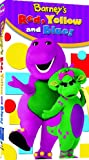 Barney - Red, Yellow and Blue [VHS]