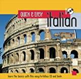 Italian (Quick & Easy Languages Book CD)