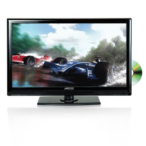 Buy Cheap Axess 19-Inch LED Full HDTV, Includes AC/DC TV, DVD Player, HDMI/SD/USB Inputs, TVD1801-19