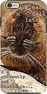 DailyObjects Please Call Later Nutria Tough Case For iPhone 6 Plus