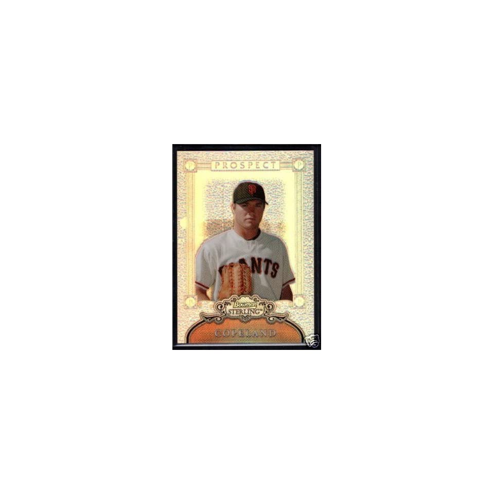 BEN COPELAND 2006 BOWMAN STERLING RC REFRACTOR /199 Sports Collectibles