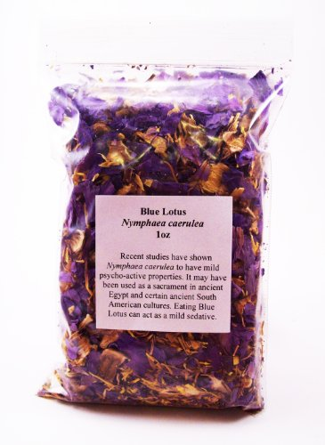 Blue Lotus Flowers 1oz