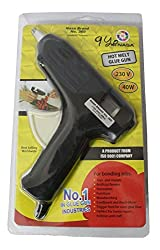 NASA Brand Hot Melt Glue Gun with 5 plastic glue sticks