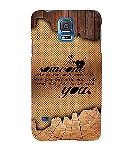 Amazing Love Quote 3D Hard Polycarbonate Designer Back Case Cover for Samsung Galaxy S5 Mini :: Samsung Galaxy S5 Mini G800F