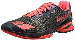 Babolat Men\'s Jet All Court Tennis Shoes (Grey/Red) (10 D(M) US)
