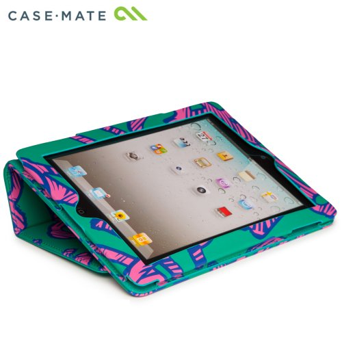 Case-Mate 日本正規品 iPad Retinaディスプレイモデル (第4世代) / iPad (第3世代) / iPad 2 対応 Slim Stand Case Printed Coated Canvas, Graffiti スタンド機能つき ブックタイプ スリムスタンド ケース 「コート キャンバス」 グラフィティ CM020595