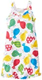 Sara's Prints Girls 2-6X Girl's Ruffle Tank Nightgown