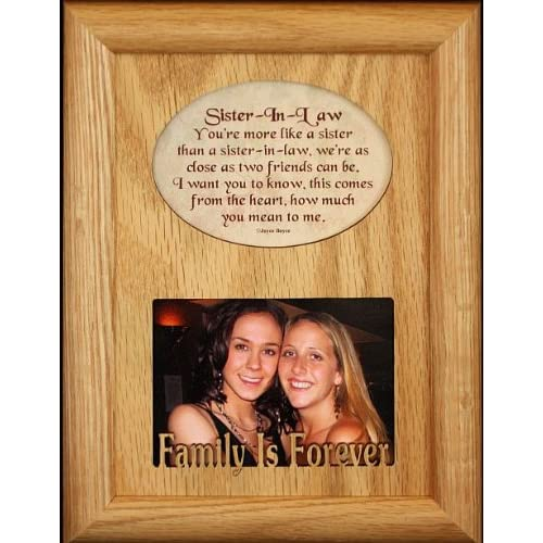 for a Sister in Law! Birthday or Christmas Gift Idea! - Single Frames
