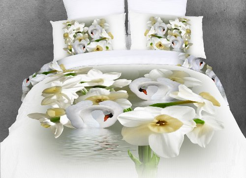 Dolce Mela Dm419Q Armonia Queen Duvet Cover Set back-81505