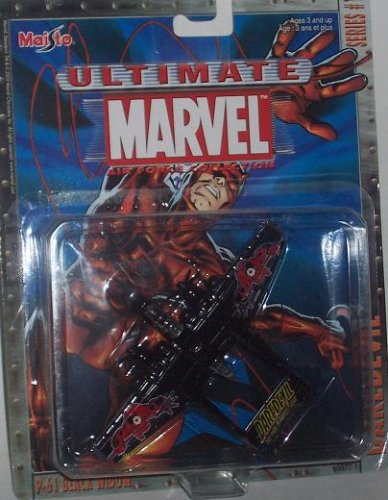 Maisto Ultimate Marvel Air Force Daredevil P-61 Black Widow Airplane Diecast Plane - 1