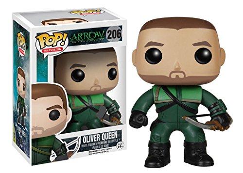 Funko Pop TV Arrow: Oliver Queen The Green Arrow Vinyl Collectible Action Figure PRS