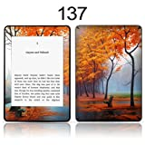 TaylorHe Vinyl Skin Decal for Amazon Kindle Paperwhite Ultra-slim protection for Kindle MADE IN BRITAIN FREE UK DELIVERY Design of Autumn Trees Landscape