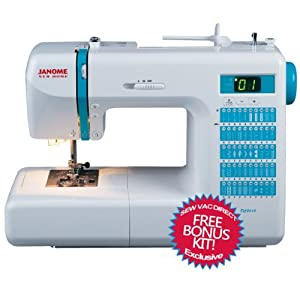 Janome DC2013 Computerized Sewing Machine With FREE BONUS ACCESSORIES! from Janome