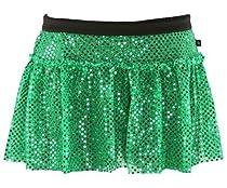 Green Sparkle Running Skirt S