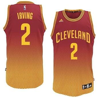 Cleveland Cavaliers Kyrie Irving Adidas Resonate Swingman Revolution 30 Jersey by adidas