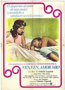 Amazon.com: Vieni, vieni amore mio Movie Poster (27 x 40 Inches - 69cm