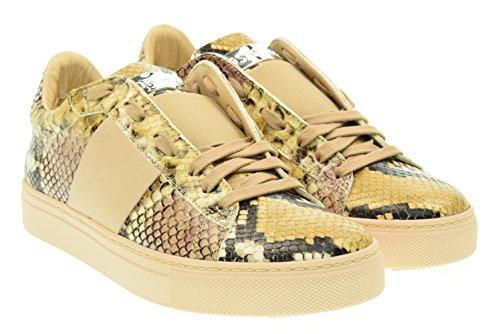 STOKTON donna sneakers basse 651-D Cipria 38 Cipria