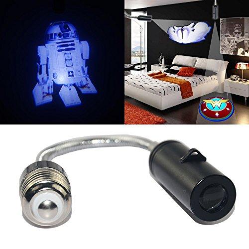 TSHE Star Wars R2-D2 robot Night Home Children Bedroom Ceiling wall floor E26 Cree LED logo laser projector light spot light downlight bulb atmosphere decorative light lamp