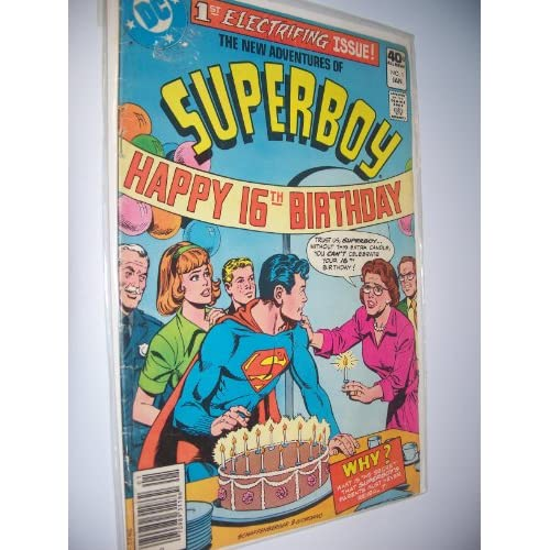 Amazon.com: DC COMICS - SUPERBOY-HAPPY 16TH BIRTHDAY