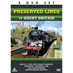 Preserved Lines Of Great Britain - The Complete Collection - 5 DVD BOXSET