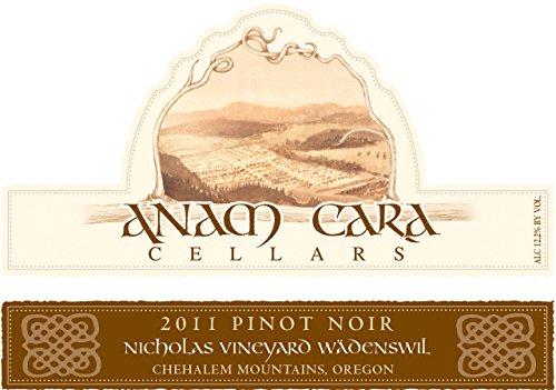 2011 Anam Cara Cellars Wädenswil Pinot Noir 750 Ml