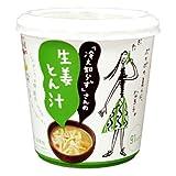 永谷園 「冷え知らず」さんの生姜カップとん汁 1食×6個
