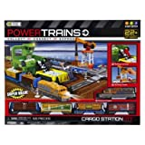 Power Trains Crane City Super Set - Over 35' of Track!