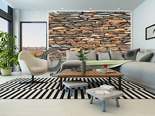 billig fototapete schiefer steinwand wand dekoration wandbild steinmauer poster motiv by great. Black Bedroom Furniture Sets. Home Design Ideas