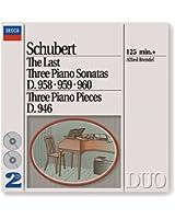 Last Three Piano Sonatas/Three Piano Pieces