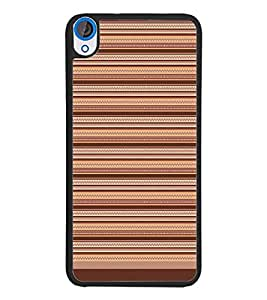 PrintDhaba Tribal Pattern D-1730 Back Case Cover for HTC DESIRE 820 (Multi-Coloured)