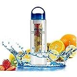 INeibo Infuser Water Bottle 24oz/700ml - Best Flavor Infusion Sport Bottle Made From Premium Eastman TRITAN Material...