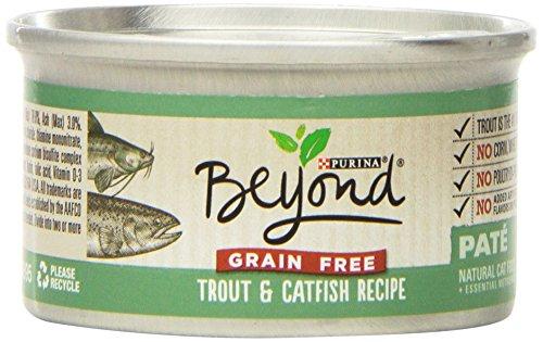 Purina Beyond Paté Grain Free Trout & Catfish Recipe Wet Cat Food
