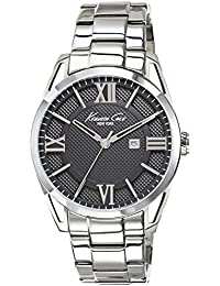 amazon in kenneth cole watches kenneth cole classic analog black dial men s watch