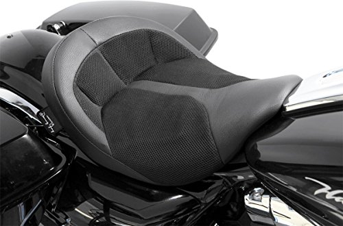 Danny Gray FA-DGE-0280 Bigist Solo Air Seat - Black Leather (Danny Gray Solo Seat compare prices)